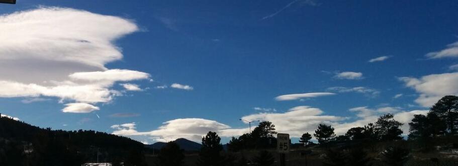 Wellenwolken Lenticularis
